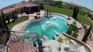 Awesome Backyard Pool & Slide - Gopro Hd Hero2