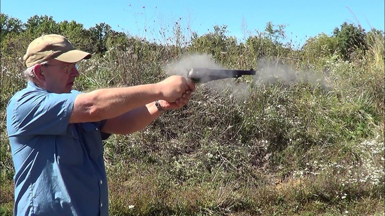 Shooting the EMF 1875 Remington Army 45 Colt Revolver