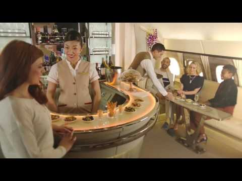 New Emirates A380 Onboard Lounge | Corporate Travel Concierge