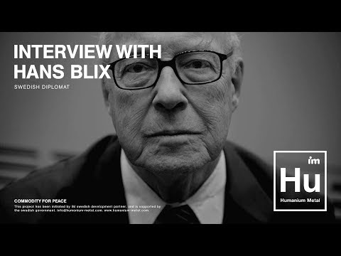 Humanium Metal Initiative: Hans Blix