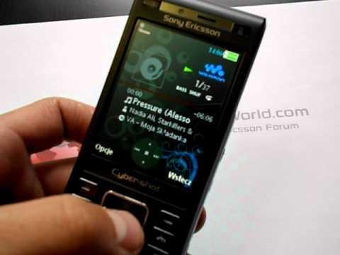 Krótka prezentacja Sony Ericsson C905