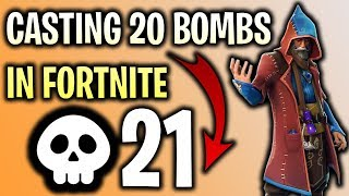 Easy 21 Kill Fortnite Game with Castor Skin!