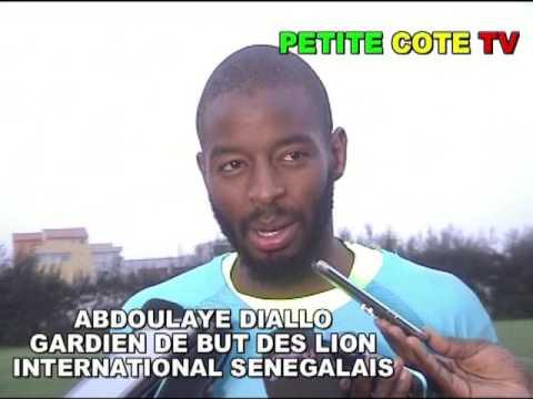 interview avec Abdoulaye Diallo  Gardien de but des lion, on joue pour gagner