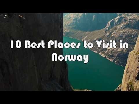 10 Awesome Places to Visit  in Norway 2019