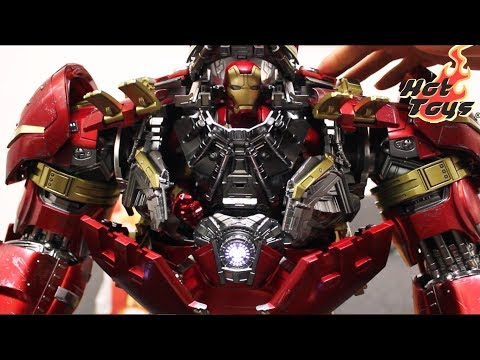 [First Look] 1/6 Ironman MK43 Inside HULKBUSTER By HOT TOYS