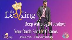 Deep Astrology Weekly Horoscope Jan 28- Feb 3 2020 Mercury Enters Shadow, Venus Sextile Saturn Pluto