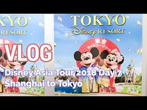 VLOG: Disney Asia Tour - Day 7 (Shanghai to Tokyo)