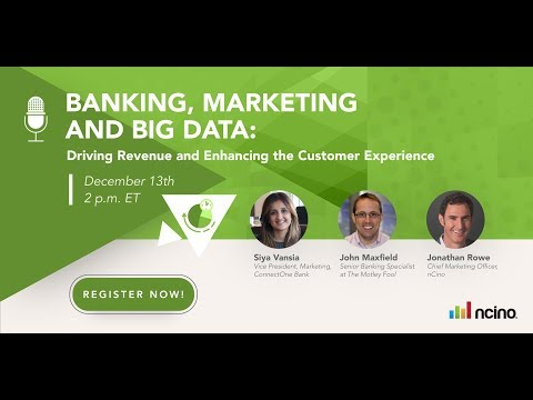 Banking, Marketing and Big Data