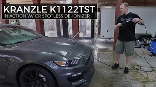 Using Kranzle Pressure Washer and CR Spotless Deionizer