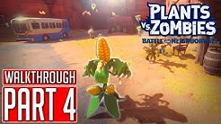PLANTS vs. ZOMBIES: BATTLE FOR NEIGHBORVILLE Gameplay Walkthrough Part 4 [1440p HD PC] No Commentary