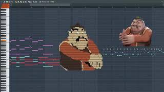 What Morshu sound like - MIDI ART