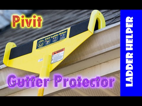 Handy Ladder Accessories.  A ladder accessory to protect your gutters.