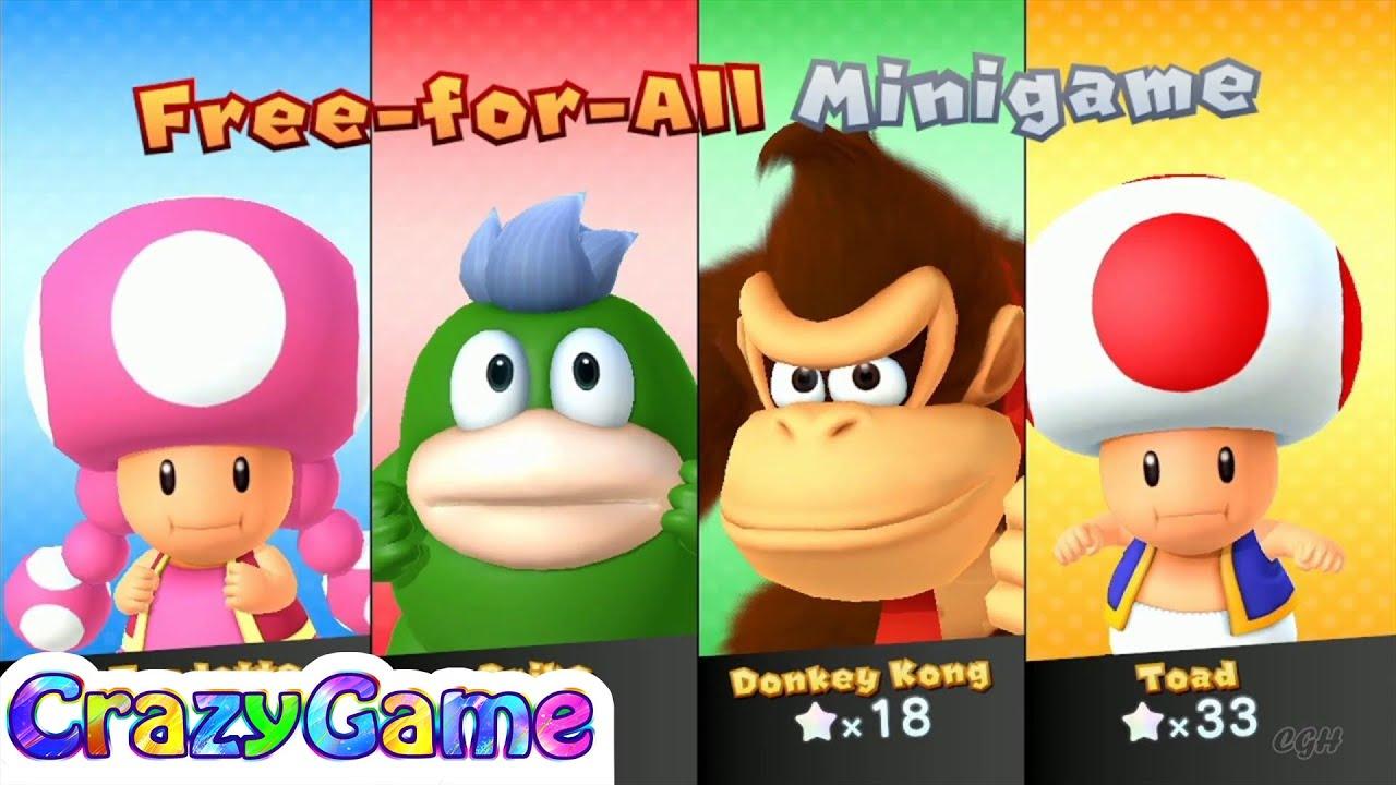 Mario Party 10 Mario Party - Spike vs Donkey Kong vs Toad ...