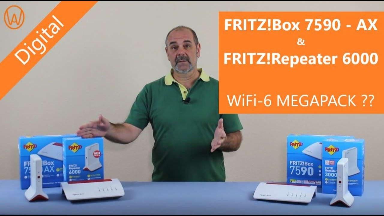 AVM FritzBox 20 AX & FritzRepeater 20   WiFi 20 MEGAPACK