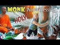 OMG! MONK WATER BLESSING! DEVIL GONE! | Vlog #18