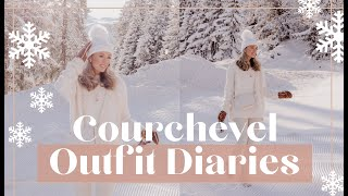 COURCHEVEL OUTFIT DIARIES ❄️ What I did & Wore while SKIING! ❄️  Fashion Mumblr