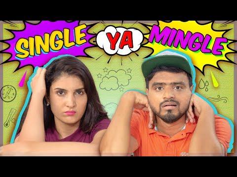 Single Ya Mingle ? New Amit Bhadana Youtube Trending Video