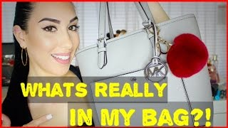 What's REALLY In My Bag 2016 | Michael Kors 2016 | BUY my used bags!!!