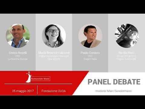 FashionAble World 2017 Panel Debate: Il Fashion tra innovazione, digitalizzazione e tradizione