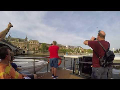 Seine river boat cruise Paris August 2017
