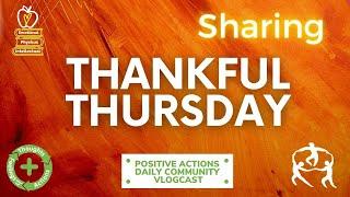 ❤️ Thankful Thursday, Week 30 🥳 Sharing, Compartir for April 15, 2021