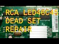 RCA LED46C45 EEPROM Exchange