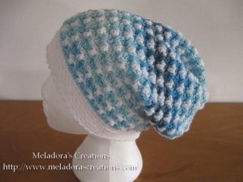 46634914c6f Birds of a Feather Slouch Hat Pt 1 - Crochet Tutorial. Meladora s Creations  for Crochet