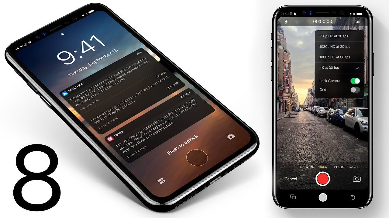 IPhone X Massive Leaks Features Dump