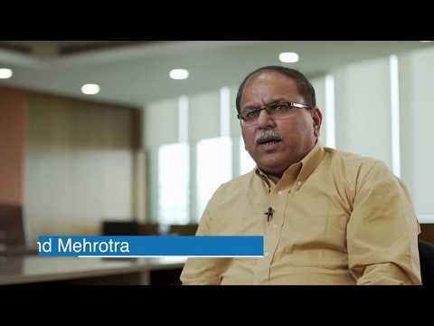 Customer talk with Mr Arvind Mehrotra (NIIT Technologies)