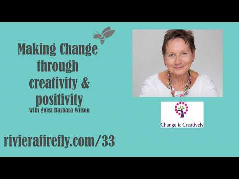 Creativity for positive change, changing behaviour, habits, mindset,
