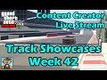 GTA Race Track Showcases (Week 42) [PS4] - GTA Content Creator Live Stream