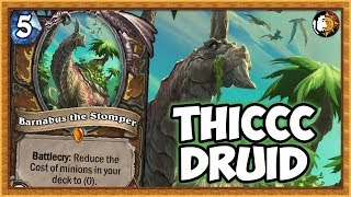 Hearthstone: Legend THICCC Quest Druid