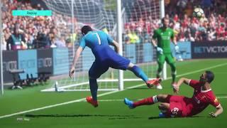 PES2018 - Liverpool vs Arsenal (PS4)