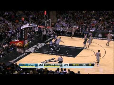 Tony Parker 30 Points 5 Assists Full Highlights Spurs vs Magic (3.8.2013)