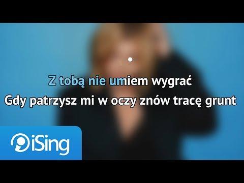 Ania Dąbrowska - Z Tobą Nie Umiem Wygrać (karaoke iSing)