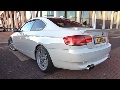 BMW Alpina B3 Biturbo With Akrapovic Exhaust! Revs & Accelerations!