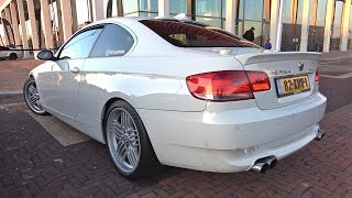 BMW Alpina B3 Biturbo with Akrapovic Exhaust! Revs & Accelerations!