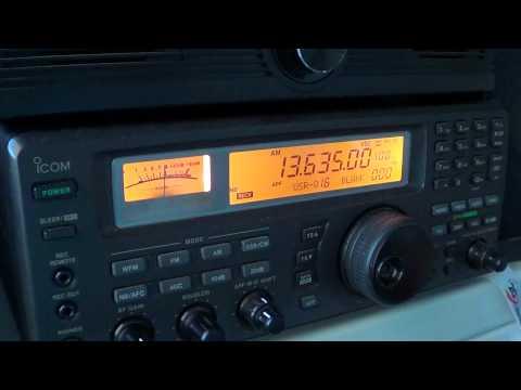 Voice of Turkey 13635 khz turkish service