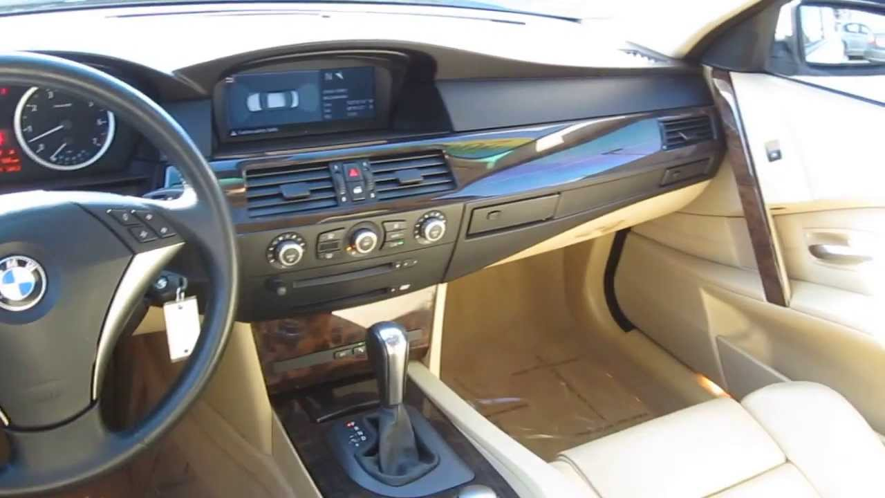 2005 bmw 5 series white stock b2333a interior youtube