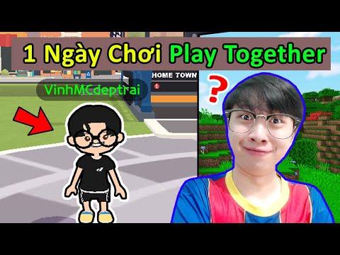 Vinh Bỏ Minecraft 1 Ngày Để Chơi Play Together ?? THỬ THÁCH MINECRAFT THEO BÌNH LUẬN (Phần 28 )