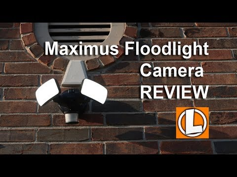 Maximus Floodlight Camera Review - Unboxing, Features, Setup, Setting,  Installation, Video Footage