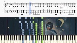 Something Just Like This - Background Piano Accompaniment (Instrumental/Karaoke) + SHEETS