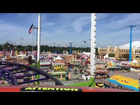 RAW: Riding the Blitzer at the Tulsa State Fair