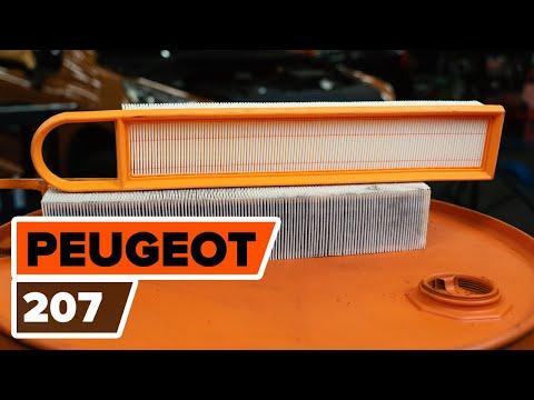 Как заменить воздушный фильтр двигателя на PEUGEOT 207 [ВИДЕОУРОК AUTODOC]