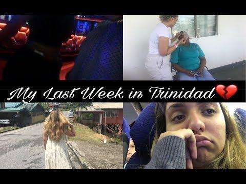 Week 4/5 in Trinidad - Clubbing/Travelling Home Sick - Nikita Jade