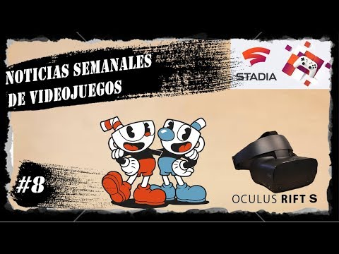 Noticias de Videojuegos Semanales #8 [Oculus anuncia sus nuevas gafas VR Oculus Rift S]