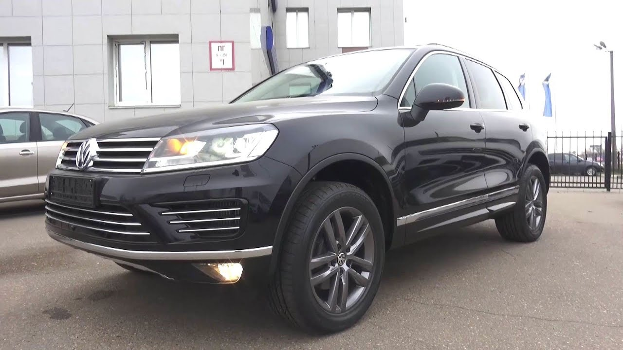 2017 Volkswagen Touareg 3 0 Tdi R Line Start Up Engine And In Depth Tour