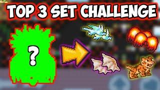 My Top 3 Set Challenges !! ( 40Dls-2000Dls )   GrowTopia