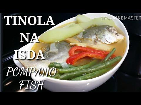 COOKING 101 : TINOLA NA ISDA ( POMPANO FISH ) / FISH SOUP / HAPPY EASTER EVERYONE....