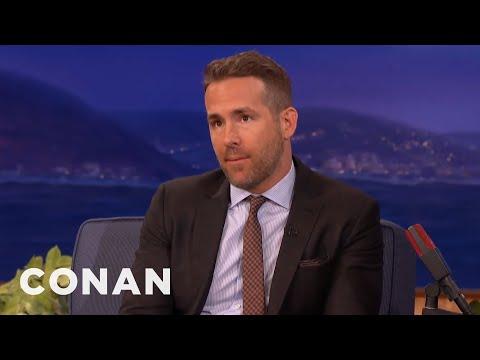 Ryan Reynolds' XXX Selfie  - CONAN on TBS